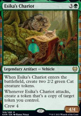 Kaldheim: Esika's Chariot