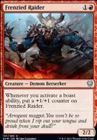 Kaldheim: Frenzied Raider