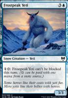 Kaldheim Foil: Frostpeak Yeti