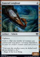 Kaldheim Foil: Funeral Longboat