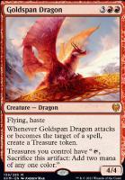Kaldheim: Goldspan Dragon