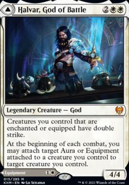 Kaldheim: Halvar, God of Battle