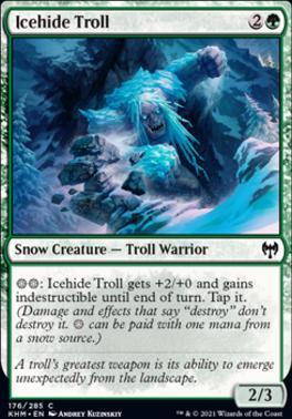 Kaldheim: Icehide Troll