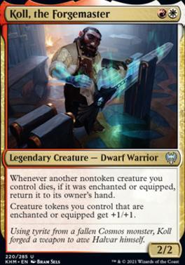 Kaldheim: Koll, the Forgemaster