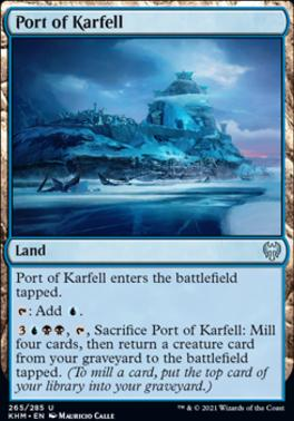 Kaldheim Foil: Port of Karfell