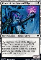 Kaldheim Foil: Priest of the Haunted Edge