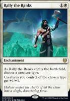 Kaldheim: Rally the Ranks