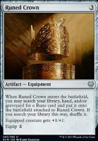 Kaldheim Foil: Runed Crown