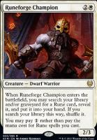 Kaldheim Foil: Runeforge Champion
