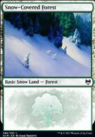 Kaldheim Foil: Snow-Covered Forest (284)