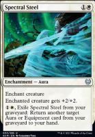 Kaldheim Foil: Spectral Steel