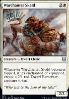 Kaldheim: Warchanter Skald (Theme Booster)