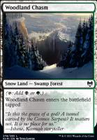 Kaldheim Foil: Woodland Chasm