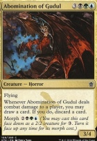 Khans of Tarkir Foil: Abomination of Gudul