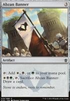 Khans of Tarkir Foil: Abzan Banner