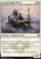 Khans of Tarkir: Abzan Battle Priest