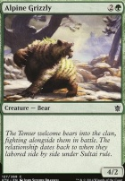 Khans of Tarkir Foil: Alpine Grizzly