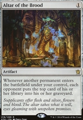 Khans of Tarkir Foil: Altar of the Brood