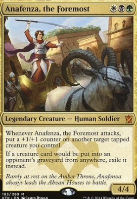 Khans of Tarkir: Anafenza, the Foremost