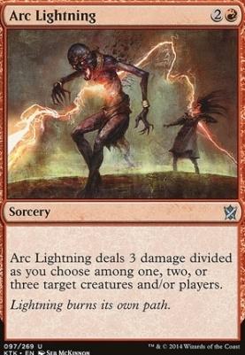 Khans of Tarkir Foil: Arc Lightning