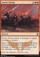 Khans of Tarkir Foil: Arrow Storm