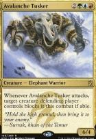 Khans of Tarkir: Avalanche Tusker
