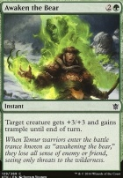 Khans of Tarkir Foil: Awaken the Bear
