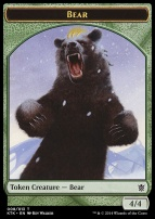 Khans of Tarkir: Bear Token