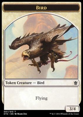 Khans of Tarkir: Bird Token