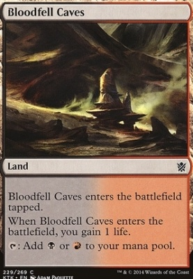 Khans of Tarkir: Bloodfell Caves