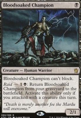 Khans of Tarkir: Bloodsoaked Champion