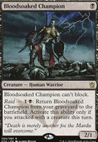 Khans of Tarkir Foil: Bloodsoaked Champion
