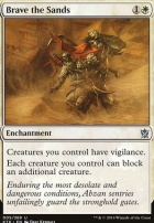 Khans of Tarkir Foil: Brave the Sands