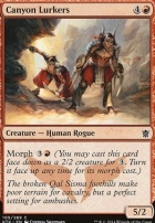Khans of Tarkir Foil: Canyon Lurkers