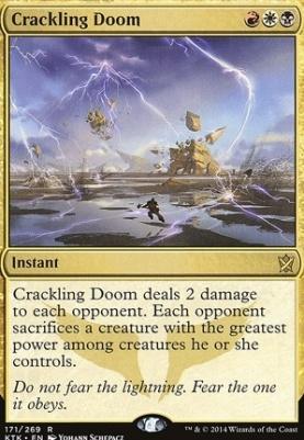 Khans of Tarkir: Crackling Doom
