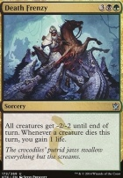 Khans of Tarkir Foil: Death Frenzy