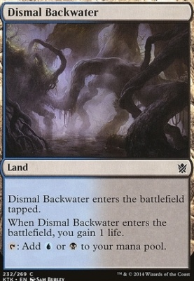 Khans of Tarkir: Dismal Backwater
