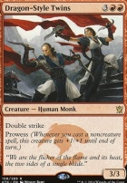 Khans of Tarkir: Dragon-Style Twins