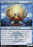 Khans of Tarkir Foil: Dragon's Eye Savants