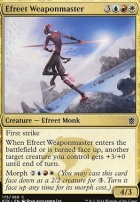 Khans of Tarkir Foil: Efreet Weaponmaster