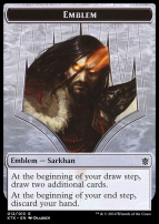 Khans of Tarkir: Emblem (Sarkhan, the Dragonspeaker)