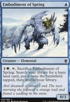 Khans of Tarkir Foil: Embodiment of Spring