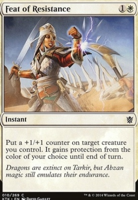 Khans of Tarkir: Feat of Resistance