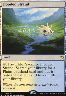 Khans of Tarkir: Flooded Strand