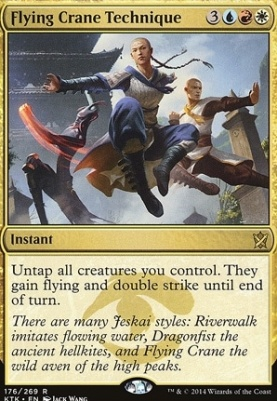 Khans of Tarkir: Flying Crane Technique