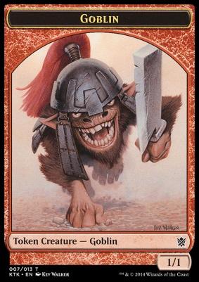 Khans of Tarkir: Goblin Token