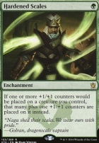 Khans of Tarkir Foil: Hardened Scales