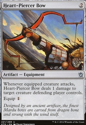 Khans of Tarkir Foil: Heart-Piercer Bow