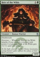 Khans of Tarkir Foil: Heir of the Wilds