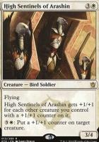 Khans of Tarkir Foil: High Sentinels of Arashin